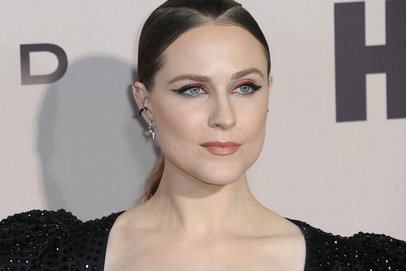 Evan Rachel Wood Westwood Premiere Red Carpet