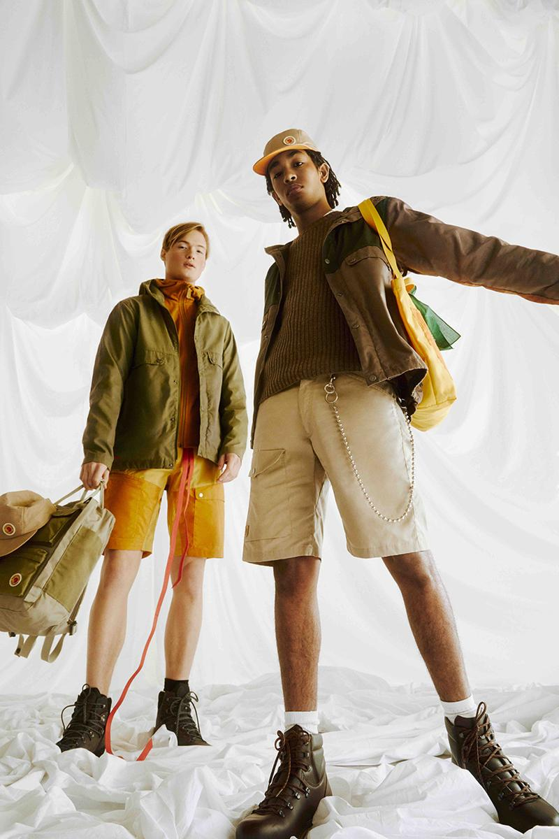 Fjällräven Samlaren Sustainability Initiative concept environment outdoor fashion functionality durability jacket bag tote accessories spring summer capsule collection