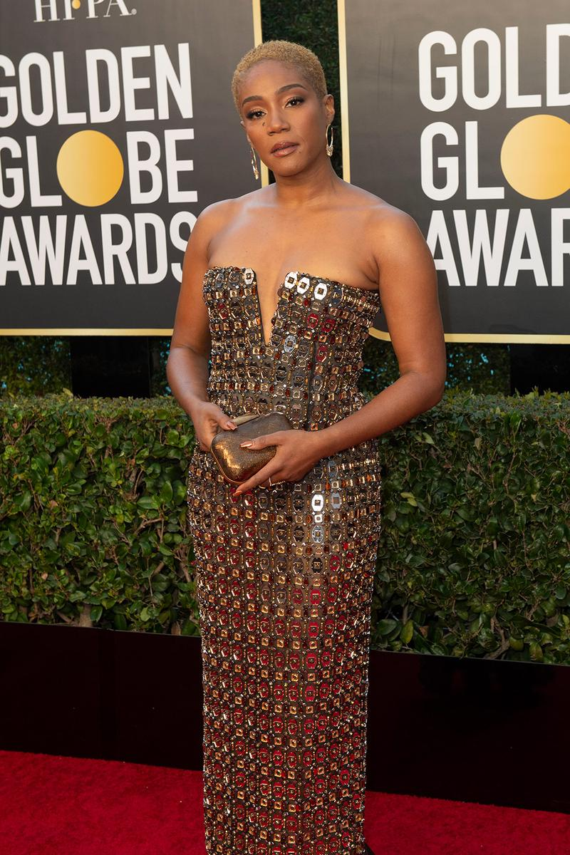 golden globes red carpet best dressed celebrities tiffany haddish