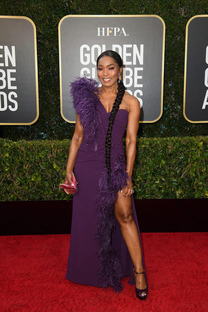 golden globes red carpet best dressed celebrities angela bassett