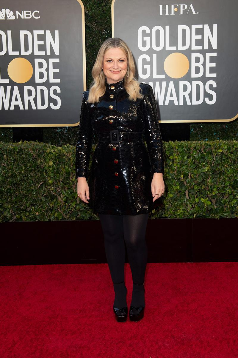 golden globes red carpet best dressed celebrities amy poehler