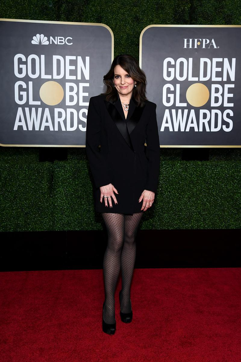 golden globes red carpet best dressed celebrities tina fey