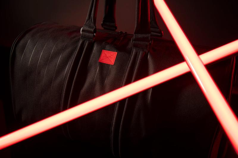 herschel supply co star wars collaboration duffle bag black red
