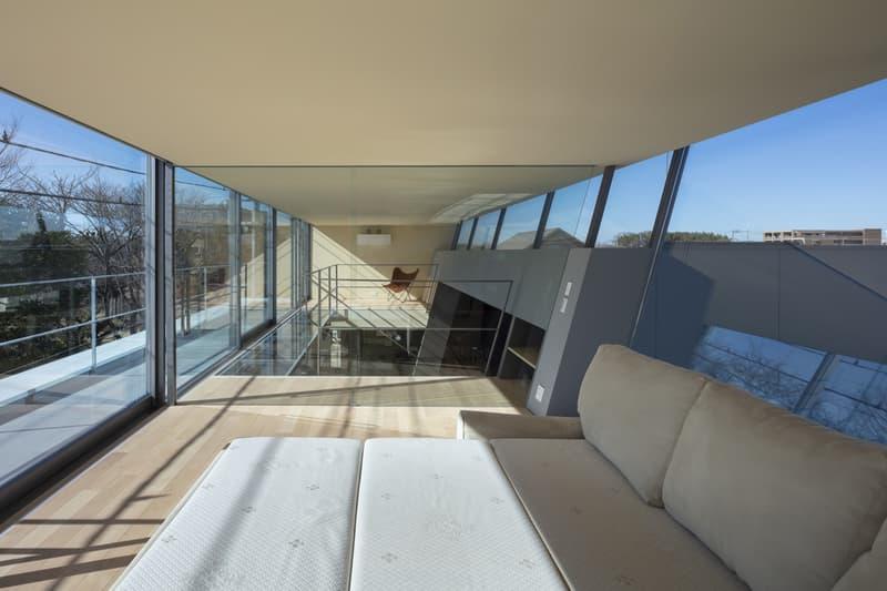 japan aisaka architects atelier house in tsukuba interior home design bedroom