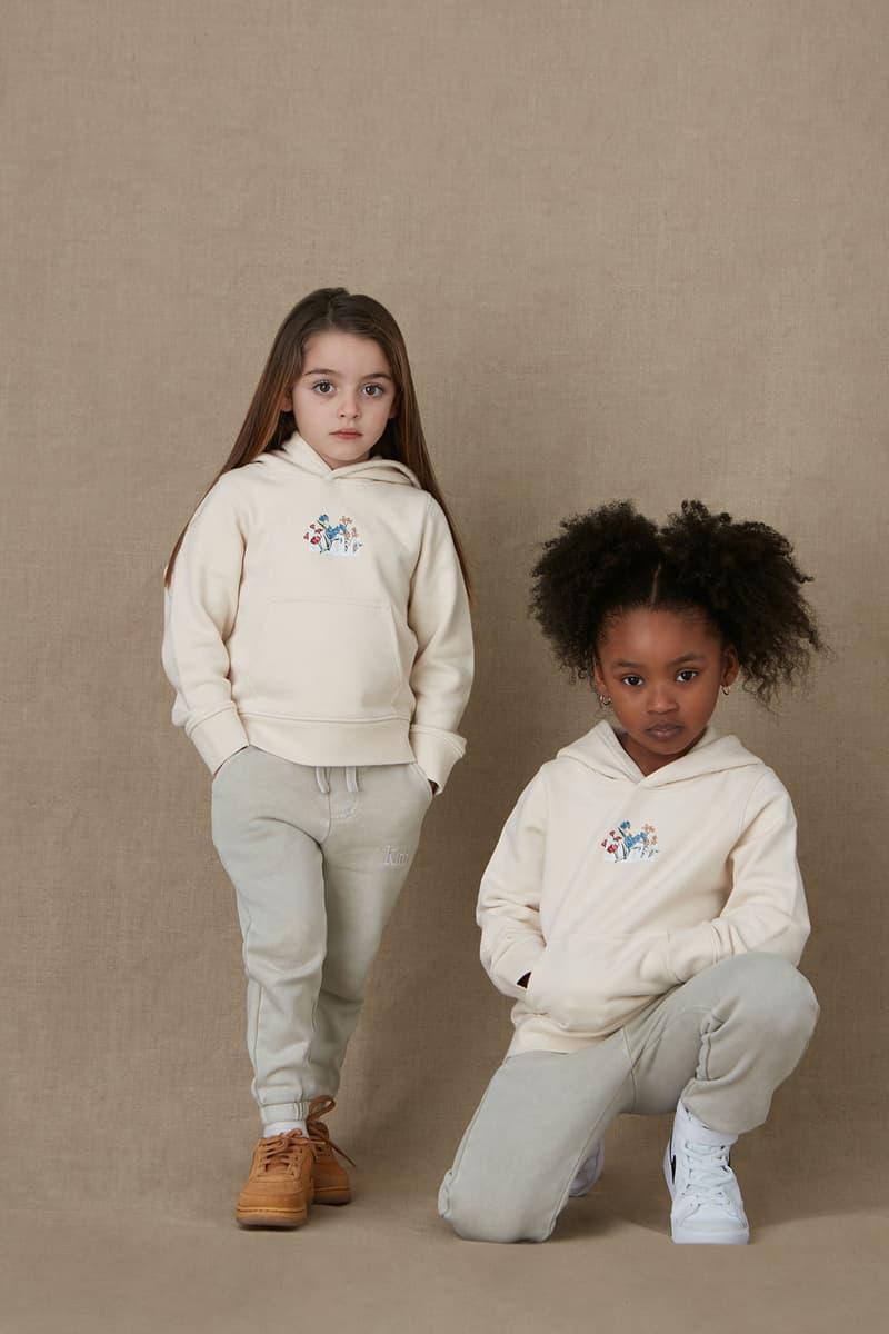 kith kids spring 2021 collection lookbook boy girl hoodie pants