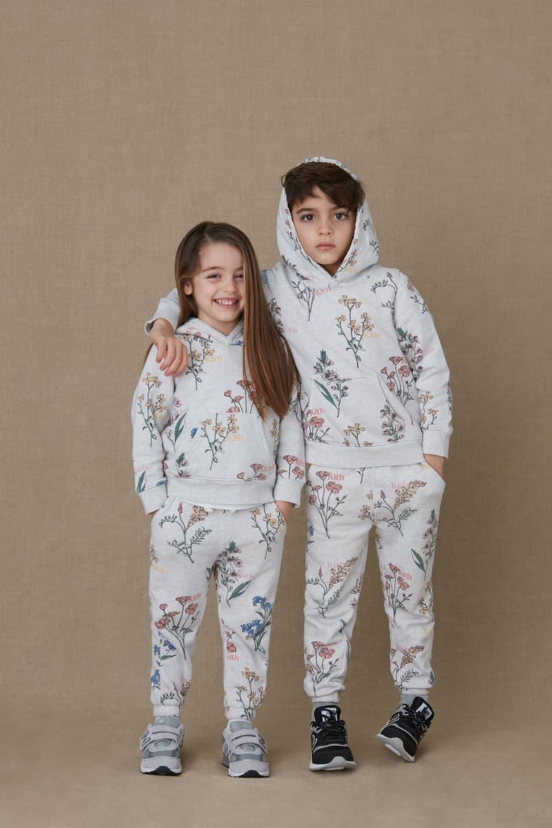 kith kids spring 2021 collection lookbook boy girl hoodie sweatpants set