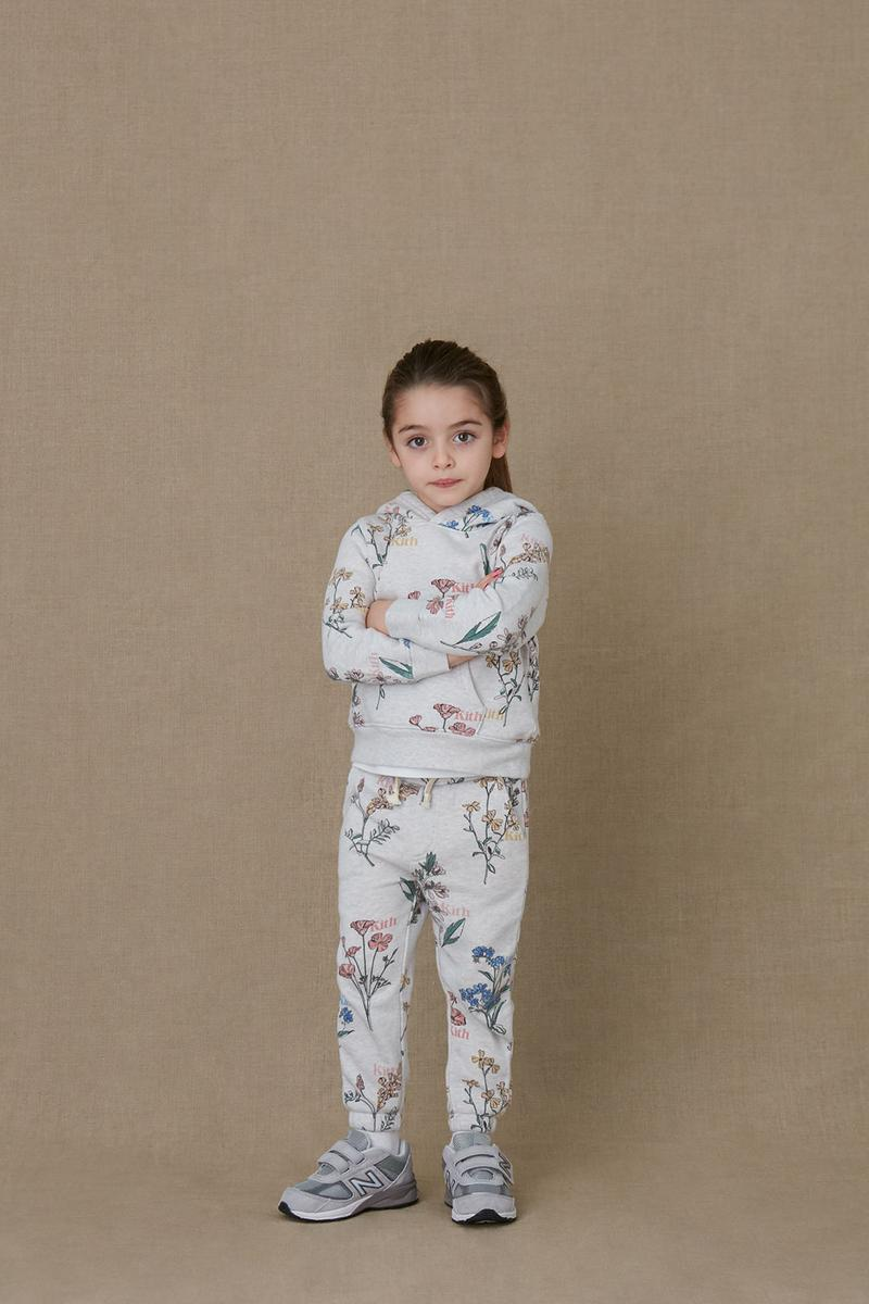 kith kids spring 2021 collection lookbook girl hoodie sweatpants set