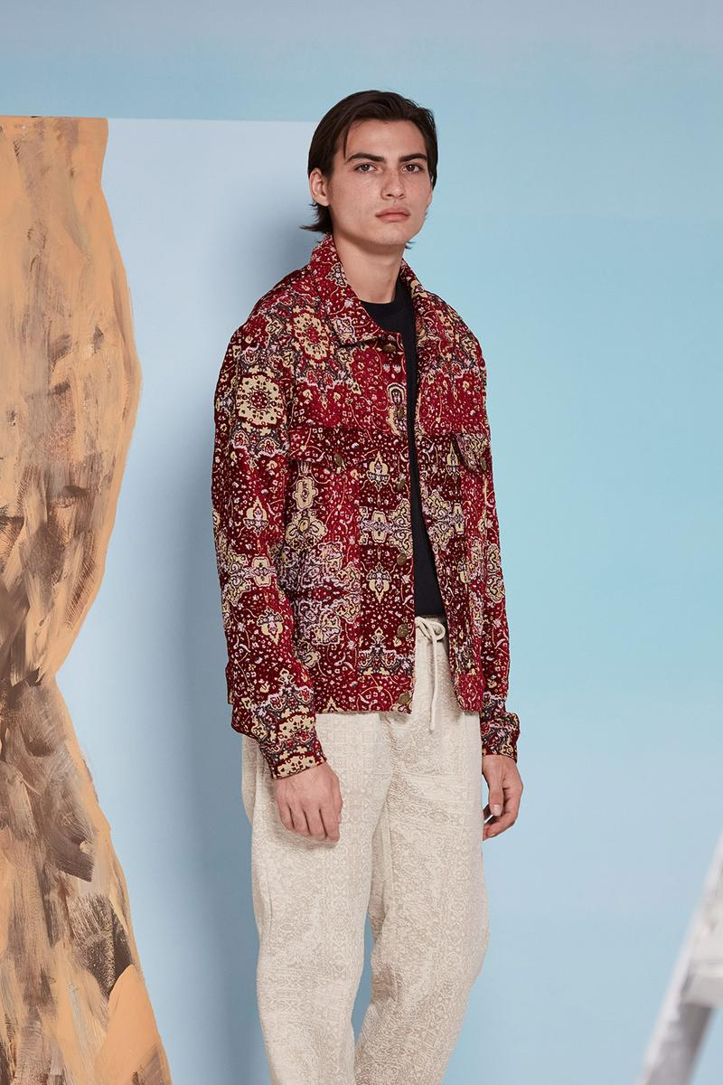 les benjamins silk road services spring summer collection campaign outerwear jacket pants