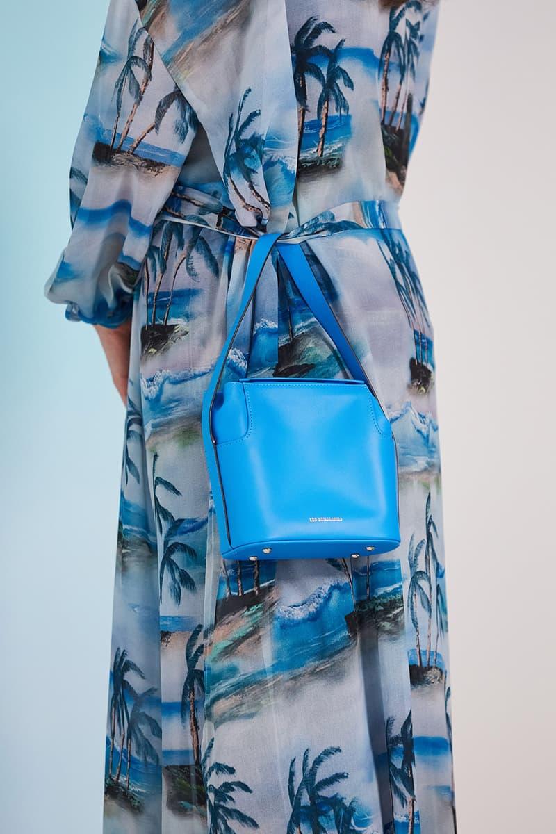 les benjamins silk road services spring summer collection campaign handbag dress