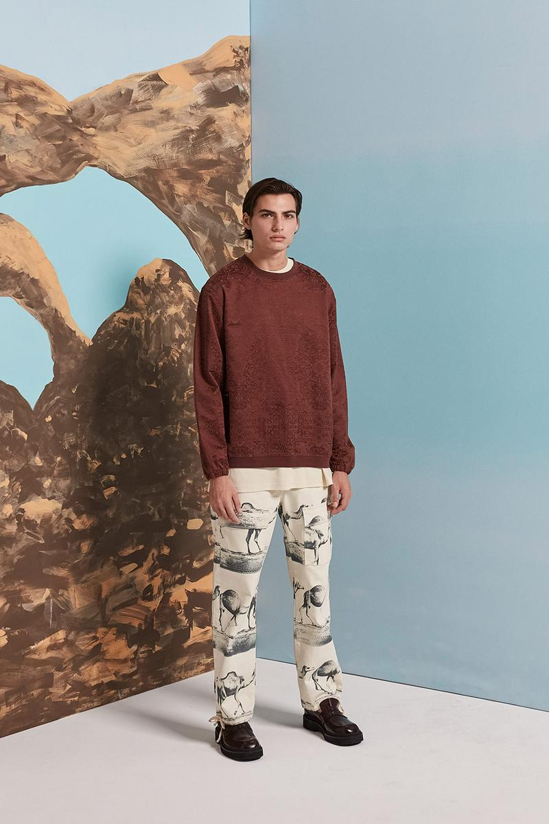 les benjamins silk road services spring summer collection campaign