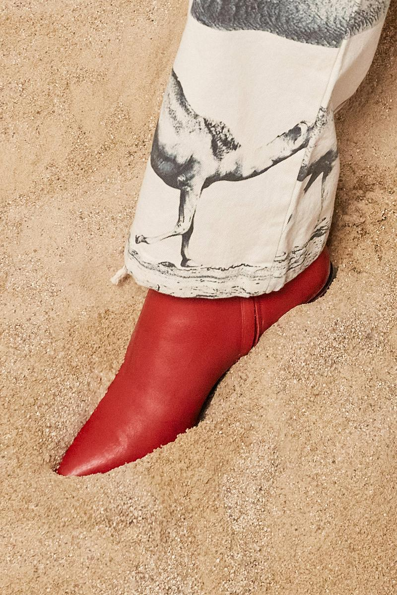 les benjamins silk road services spring summer collection campaign shoes