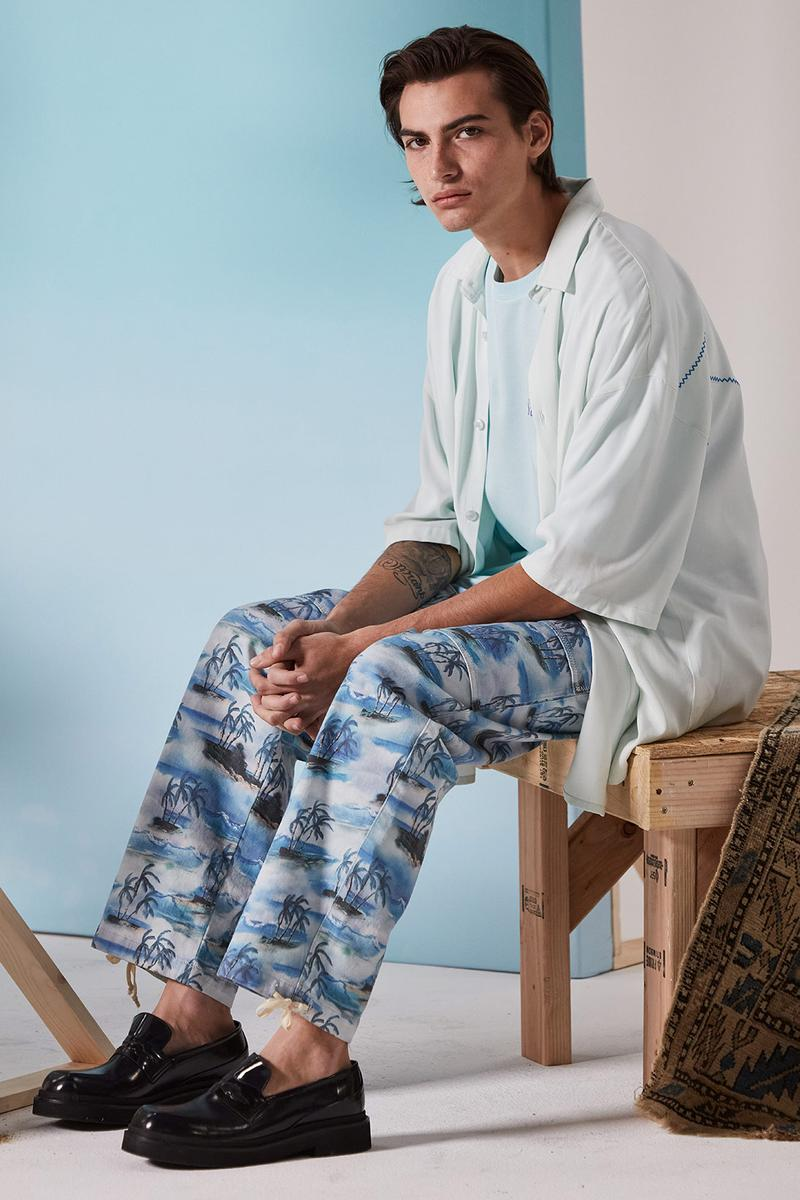 les benjamins silk road services spring summer collection campaign shirt pants shoes