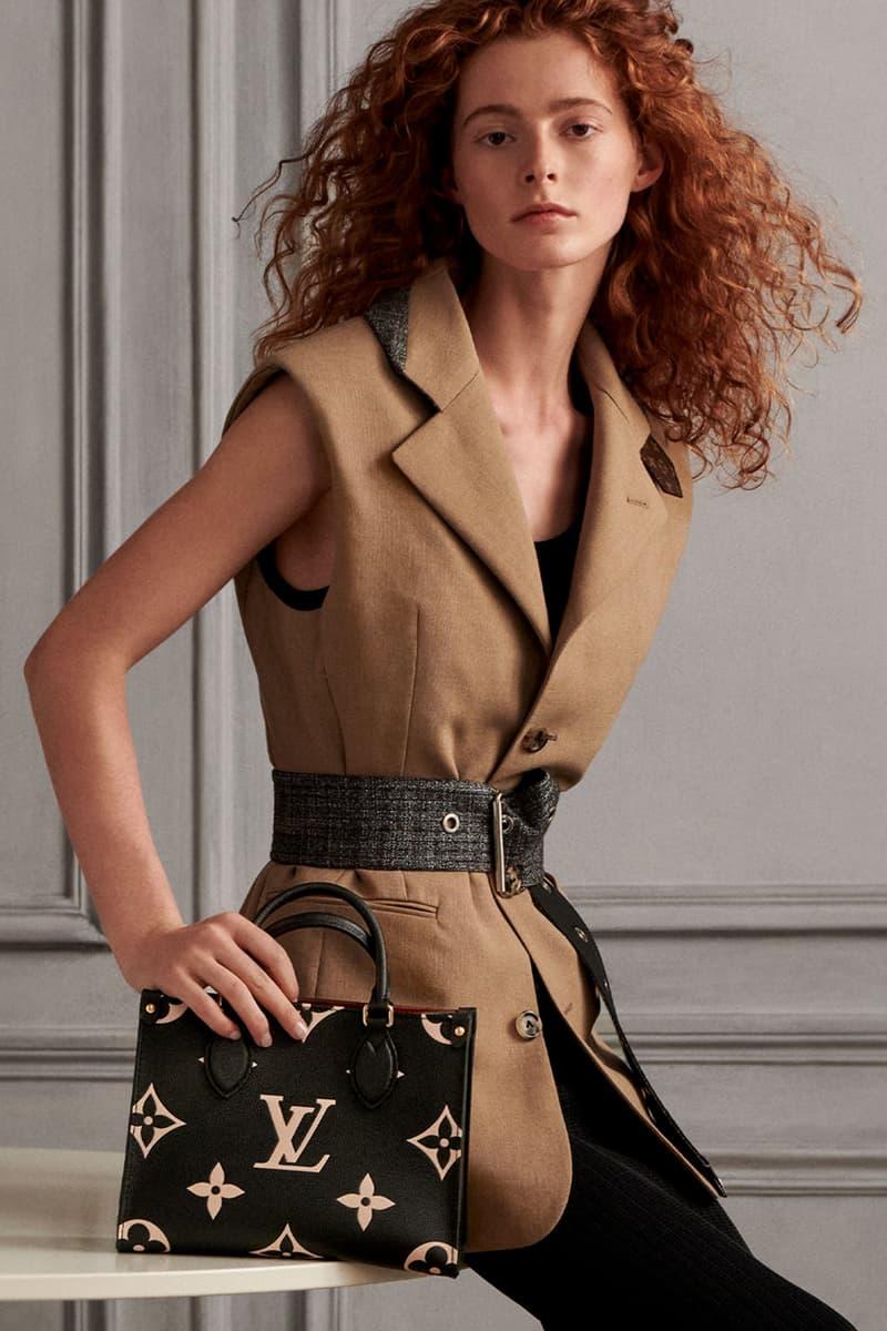 louis vuitton lv monogram handbags onthego mm black beige