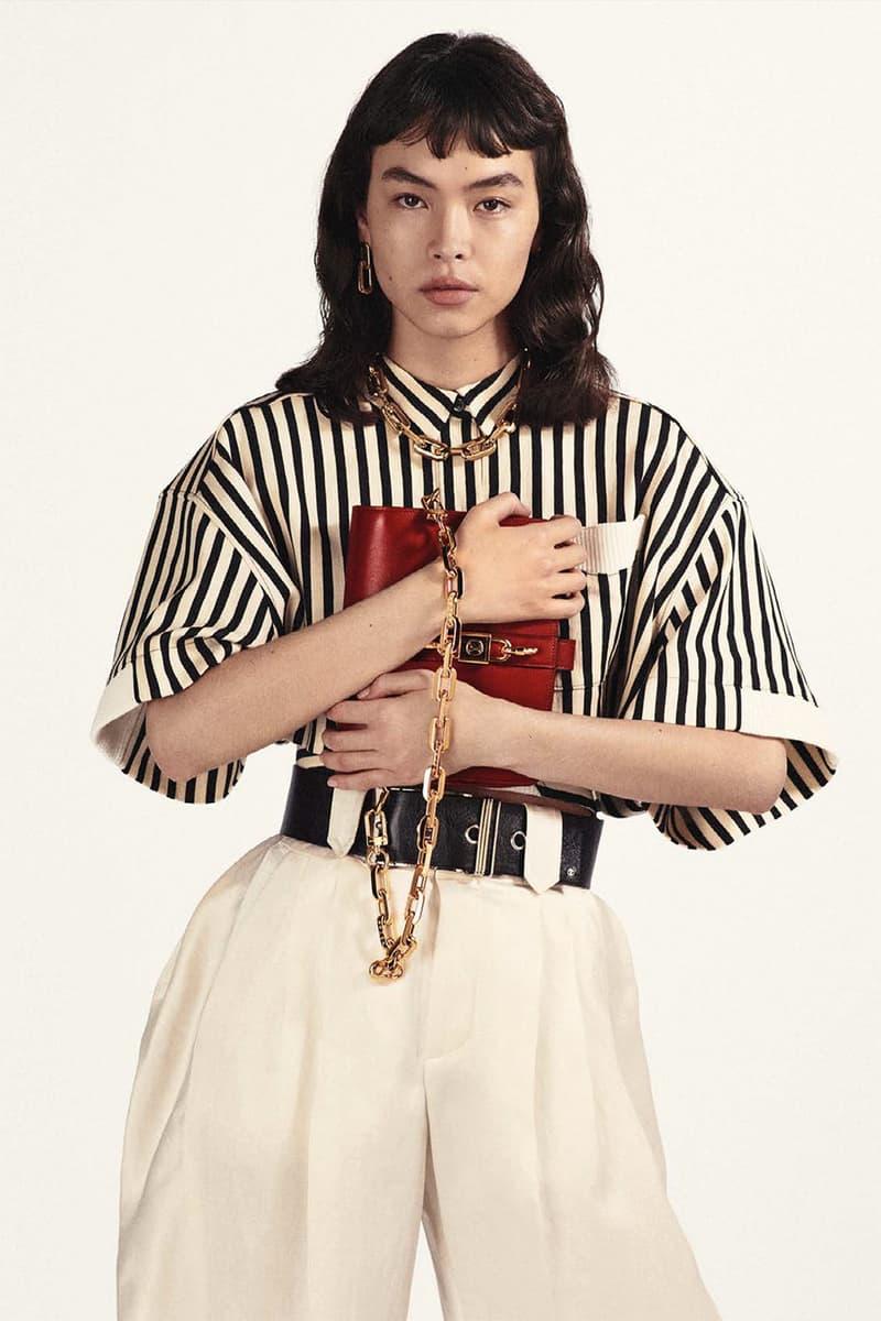 louis vuitton rendez vous designer handbag spring summer collection black red gold chain