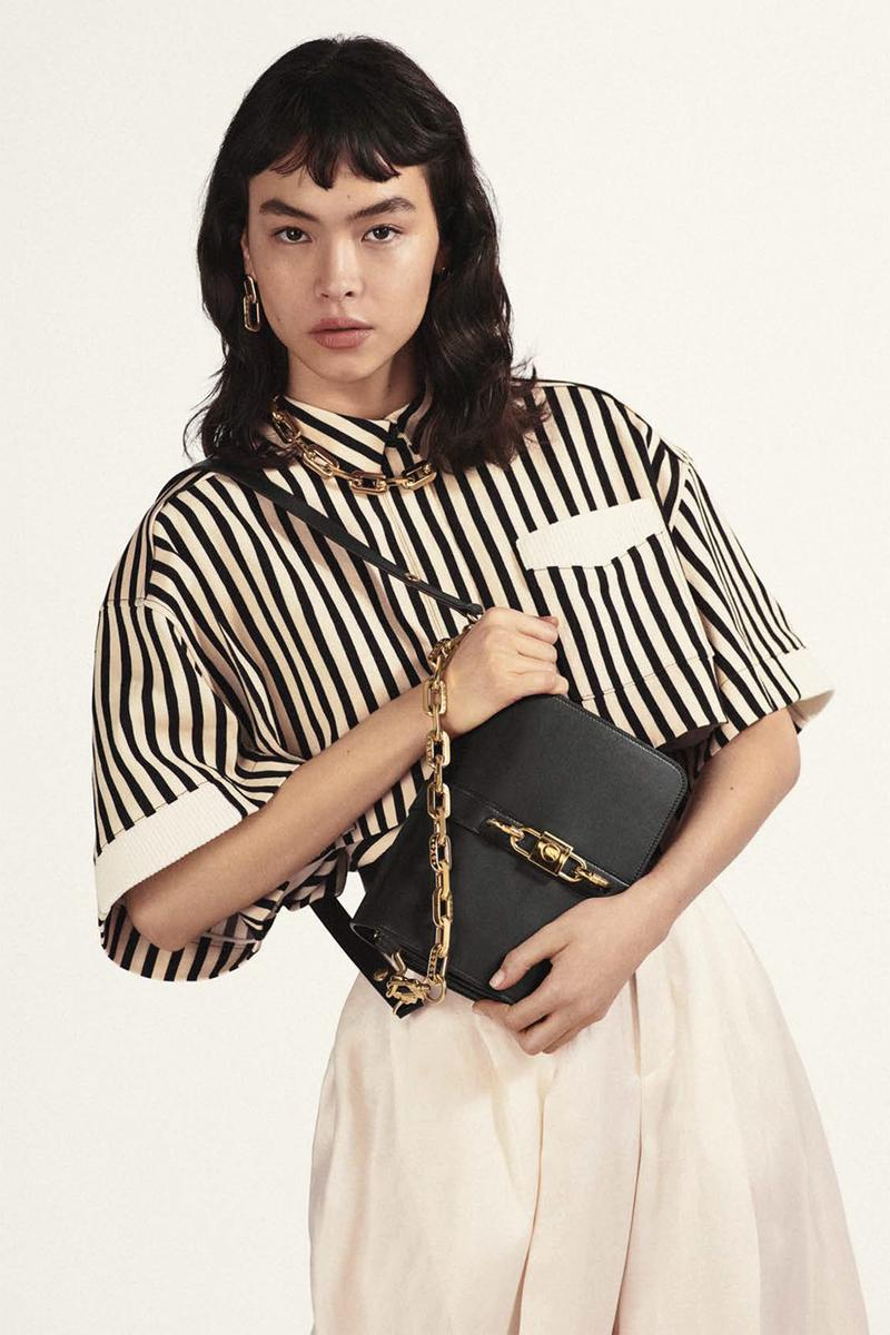 louis vuitton rendez vous designer handbag spring summer collection black gold chain