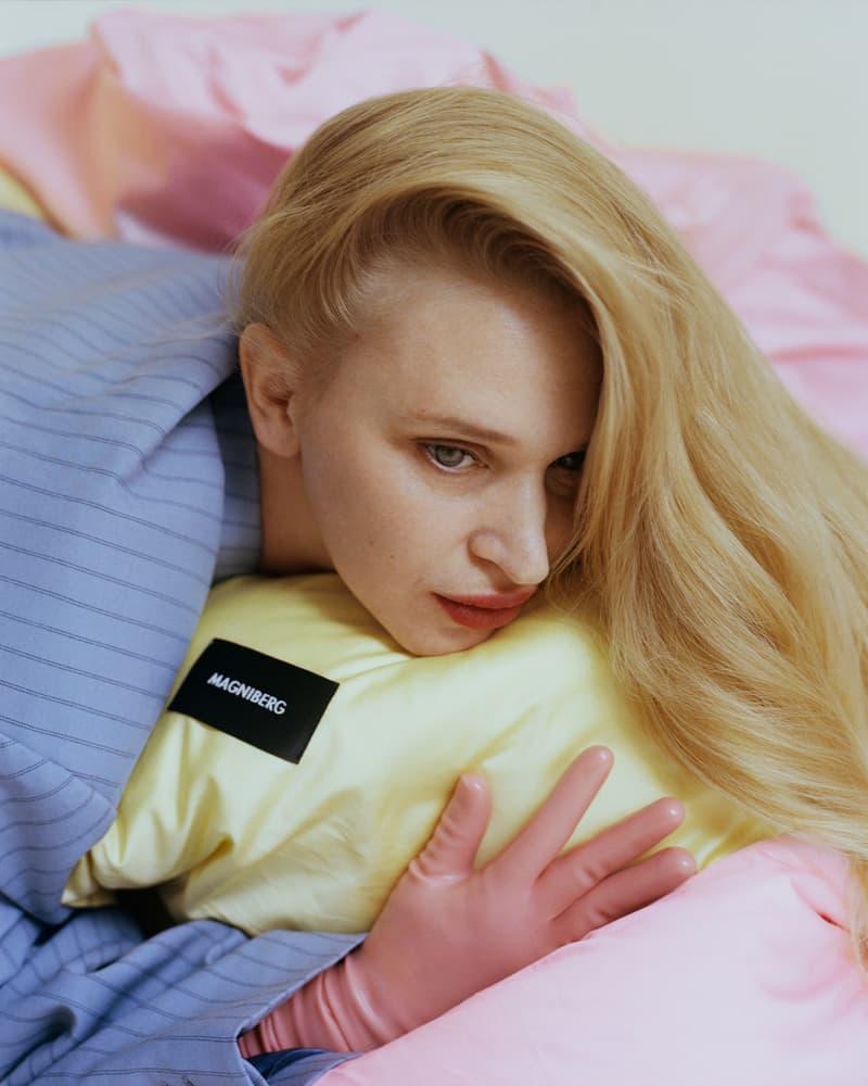magniberg bedding home linen textiles pastel colors yellow pillow case coverse