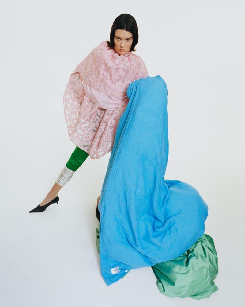 magniberg bedding home linen textiles pastel colors blanket cover