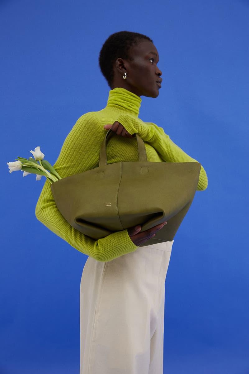 Mansur Gavriel Tulipano Bag Purse Green