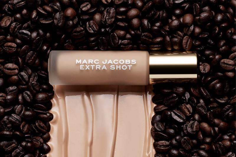 Marc Jacobs Beauty Cafe Coffee Makeup Collection Extra Shot Concealer Foundation Caffeine
