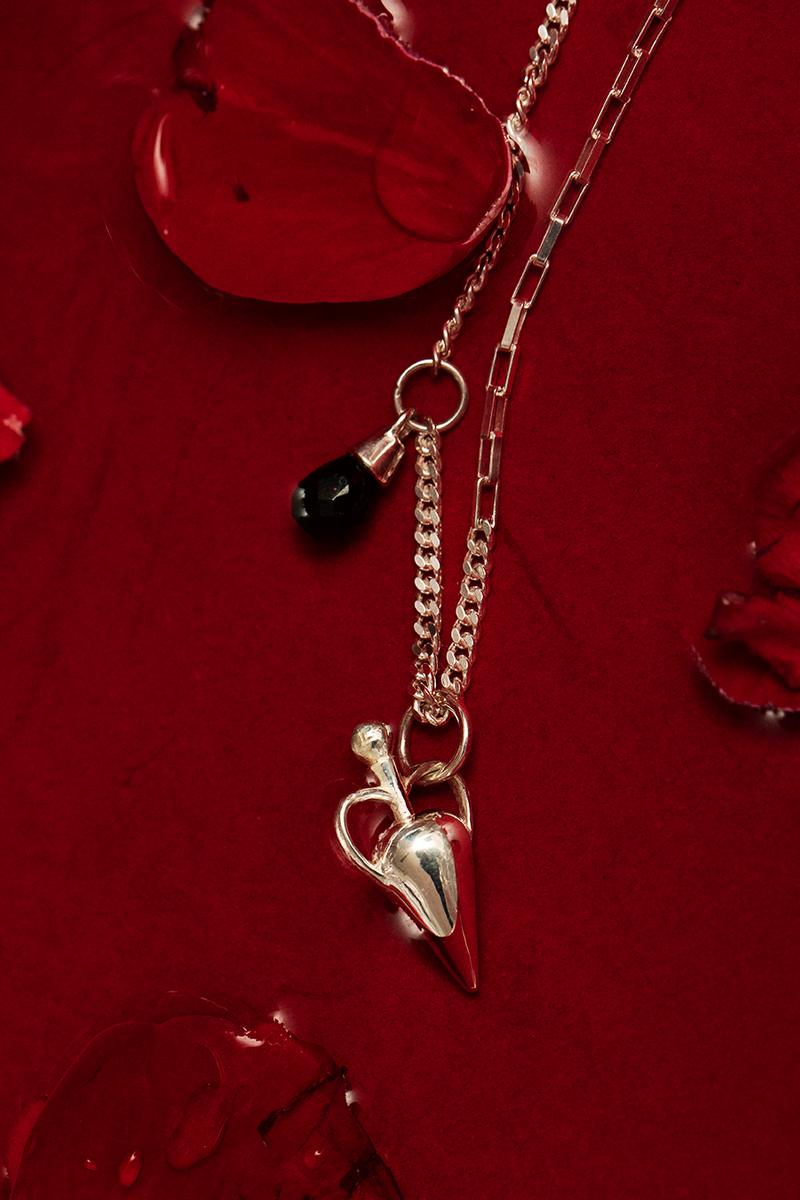 Maria Nilsdotter Mad Love Jewelry Collection Campaign Arvida Byström Rings Necklaces Earrings Bracelets