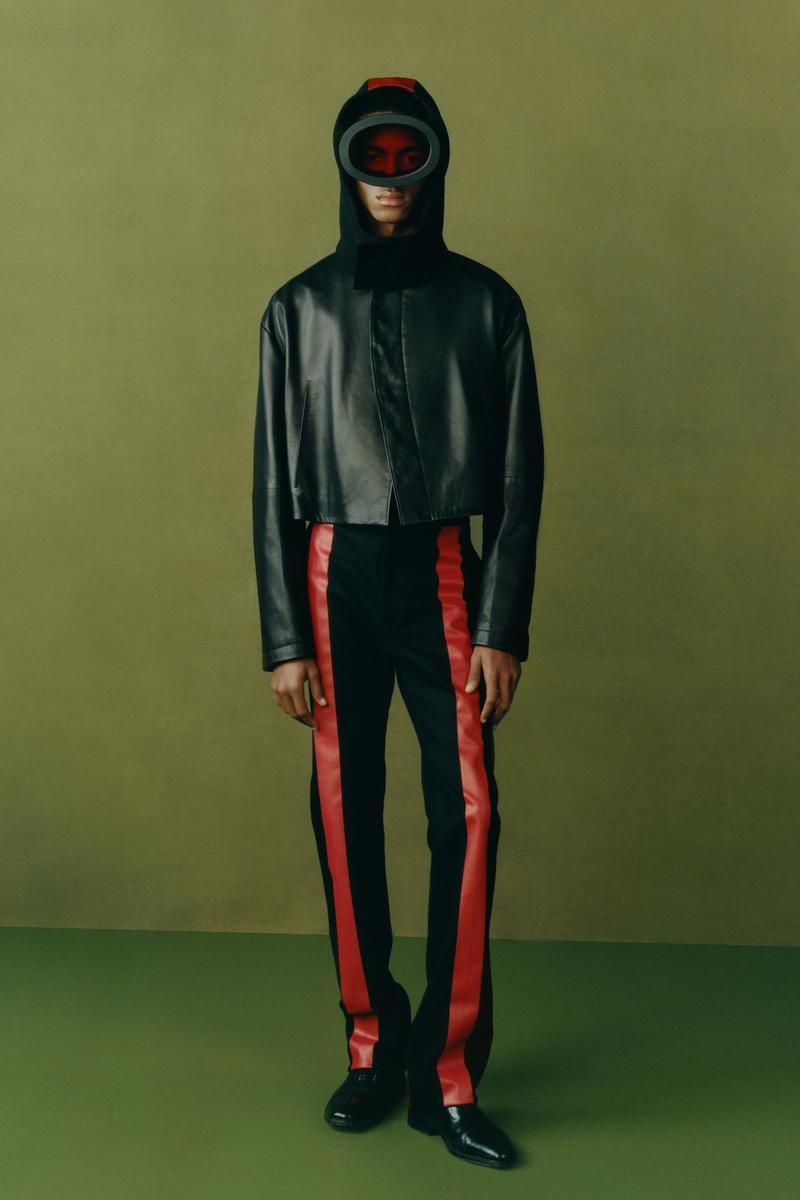 maximilian fall winter collection london fashion week lfw black culture lookbook outerwear jacket pants headwear shoes