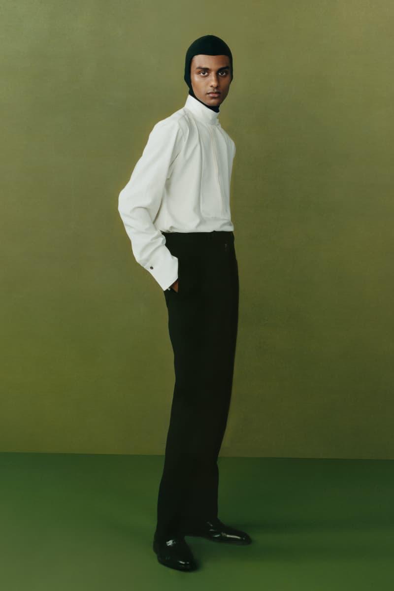 maximilian fall winter collection london fashion week lfw black culture lookbook shirt pants shoes headwear