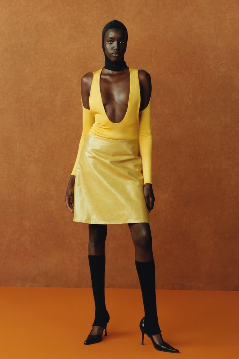 maximilian fall winter collection london fashion week lfw black culture lookbook dress heels