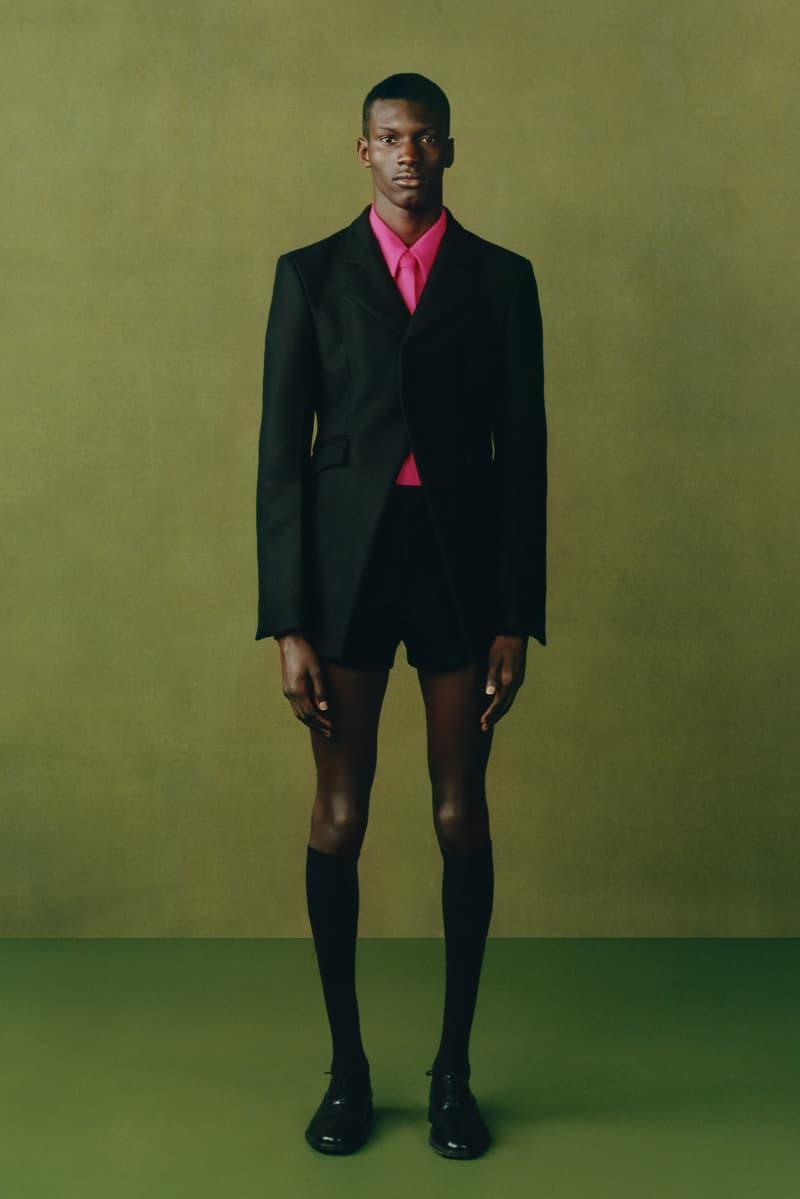 maximilian fall winter collection london fashion week lfw black culture lookbook outerwear jacket shorts