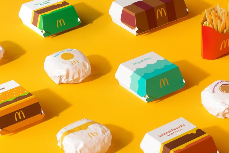 McDonald's Packaging Redesign Global Wrappers Containers
