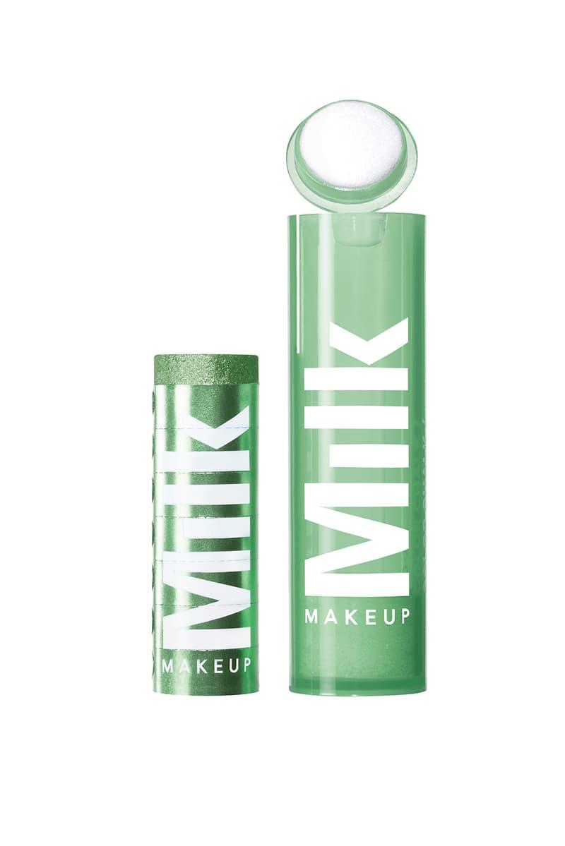 milk makeup chalk color eyeshadow green light