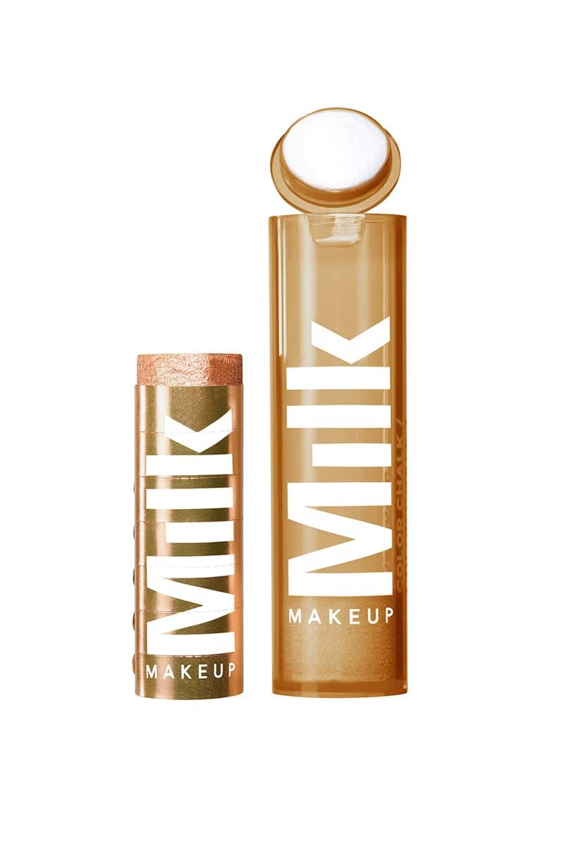 milk makeup chalk color eyeshadow kickball bronze
