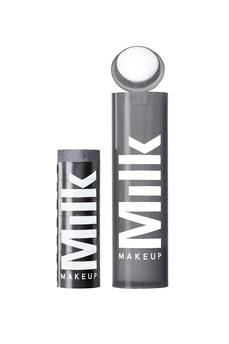 milk makeup chalk color eyeshadow trampoline pewter