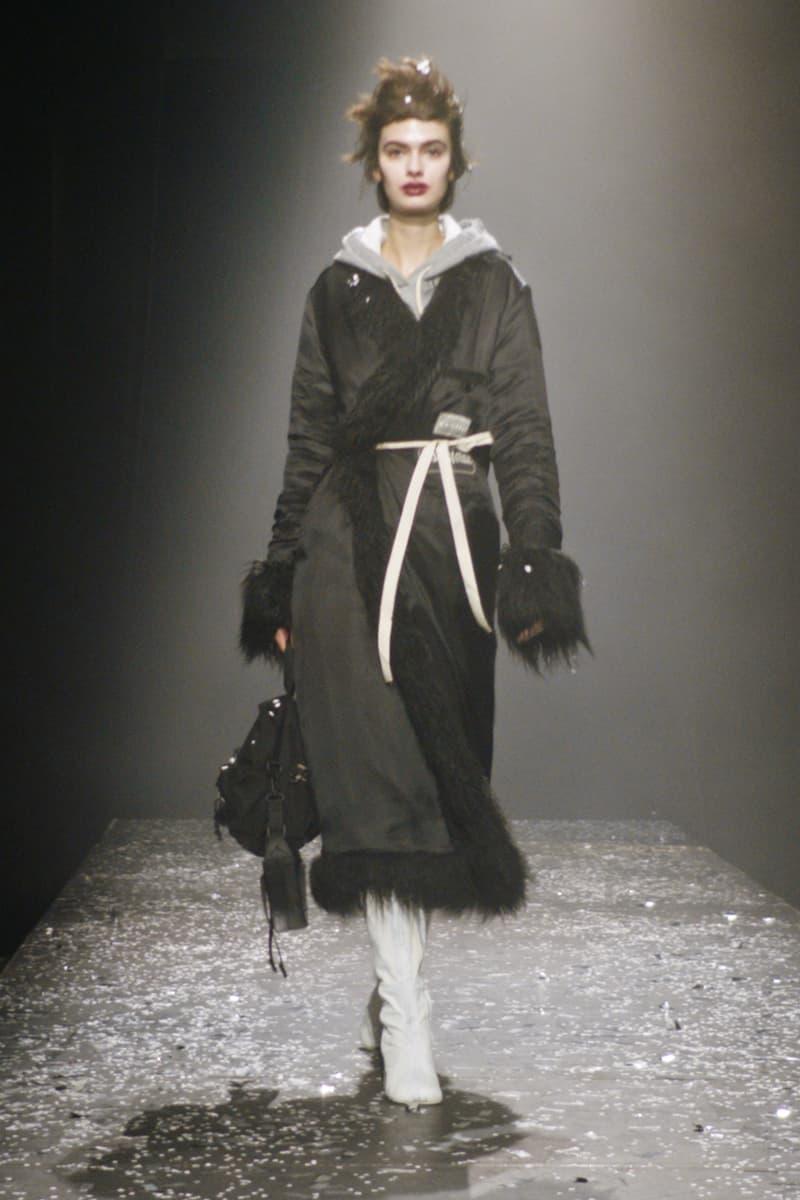 mm6 maison margiela fall winter collection paris fashion week pfw outerwear jacket