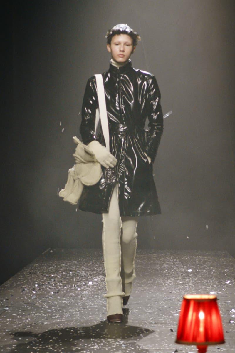 mm6 maison margiela fall winter collection paris fashion week pfw outerwear jacket pants bag
