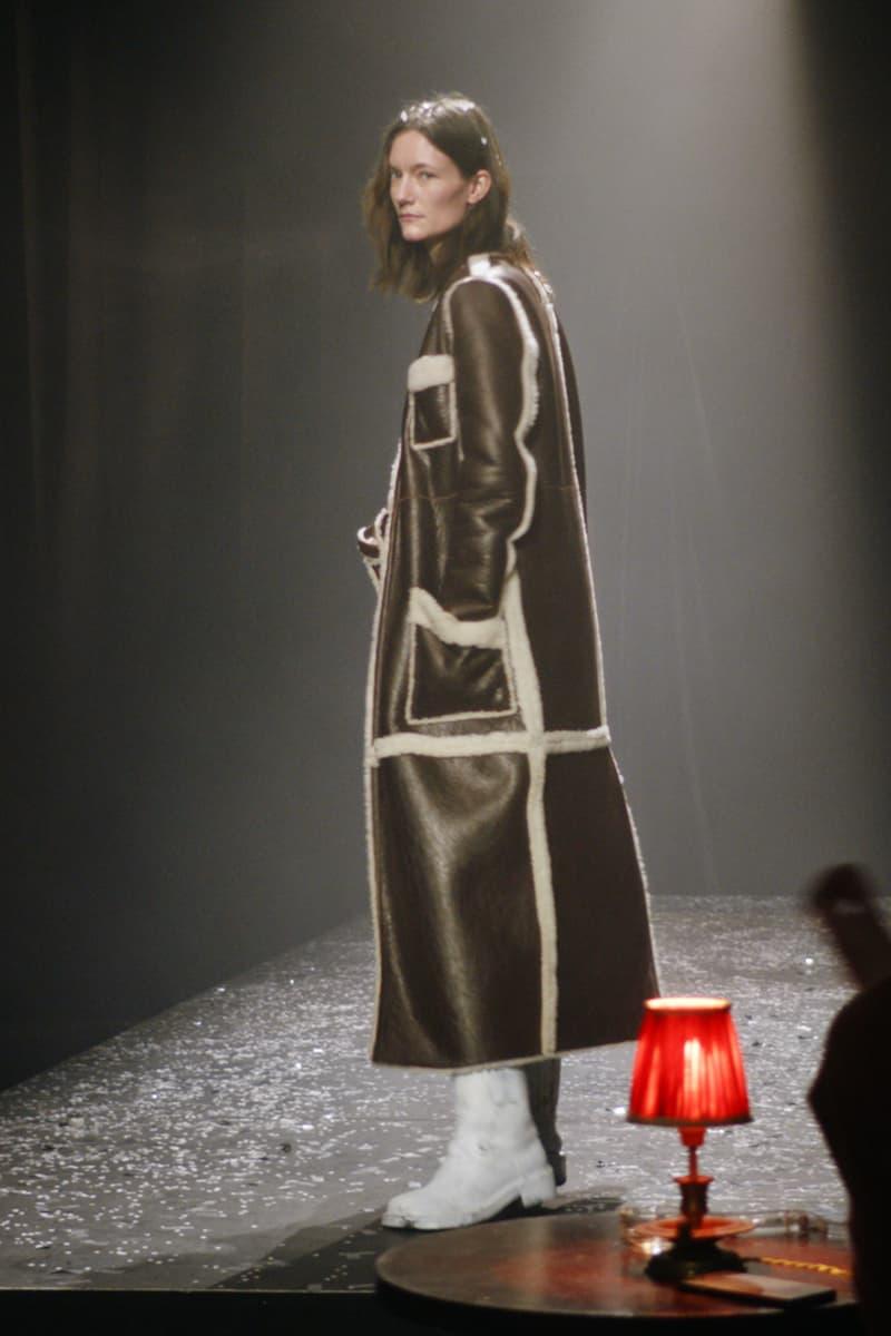mm6 maison margiela fall winter collection paris fashion week pfw outerwear jacket coat