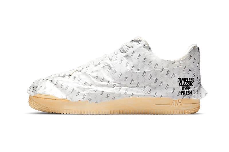 Nike Air Force 1 Low AF1 Keep 'Em Fresh Tissue Paper White