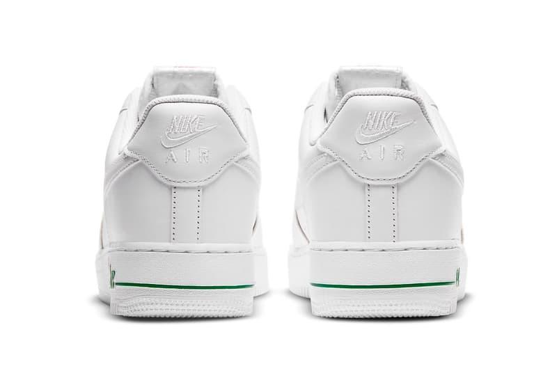 nike air force 1 af1 low white bag new york city bodegas sneakers footwear shoes sneakerhead heel
