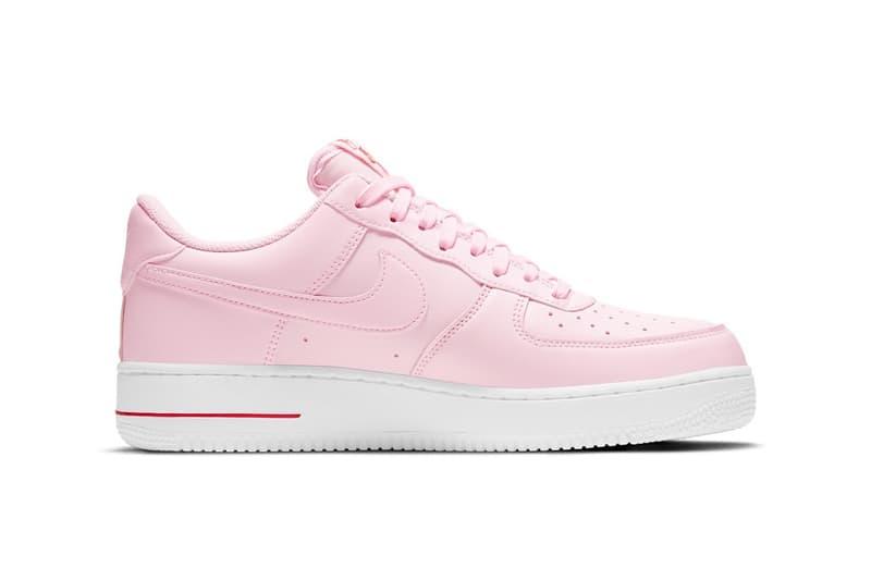 nike air force 1 af1 low pink bag new york city bodegas sneakers footwear shoes sneakerhead lateral
