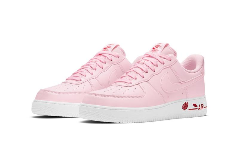 nike air force 1 af1 low pink bag new york city bodegas sneakers footwear shoes sneakerhead lateral laces