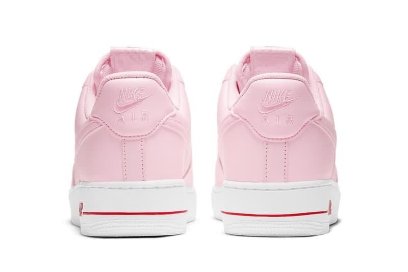 nike air force 1 af1 low pink bag new york city bodegas sneakers footwear shoes sneakerhead heel