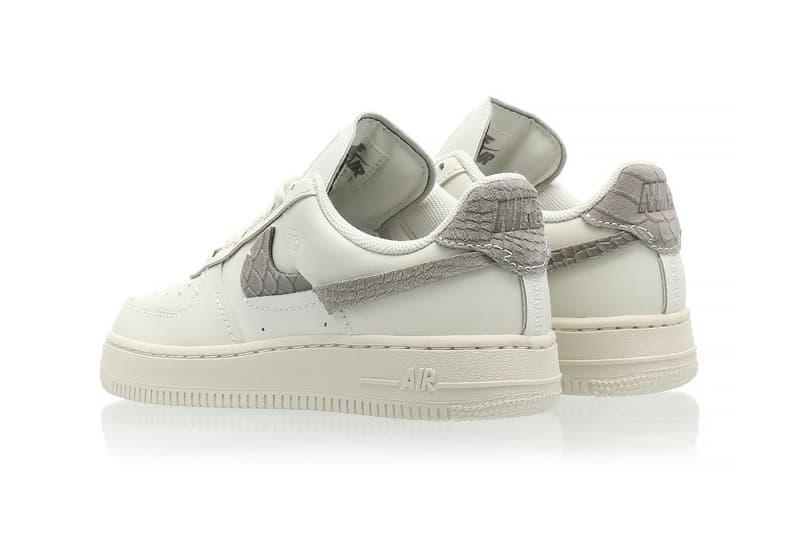nike air force 1 af1 lxx sea glass womens sneakers gray silver white colorway shoes footwear kicks sneakerhead heel