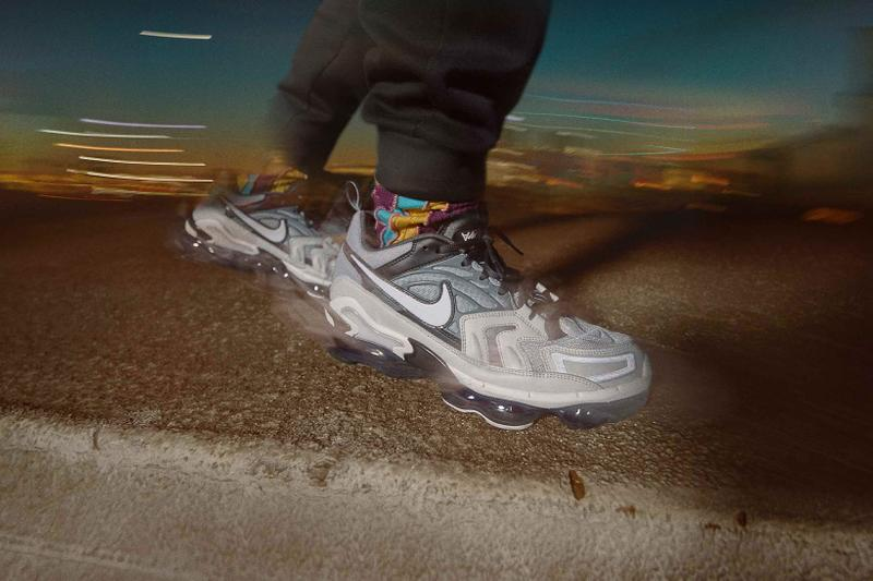 nike air max spring 2021 collection vapormax evo swoosh side