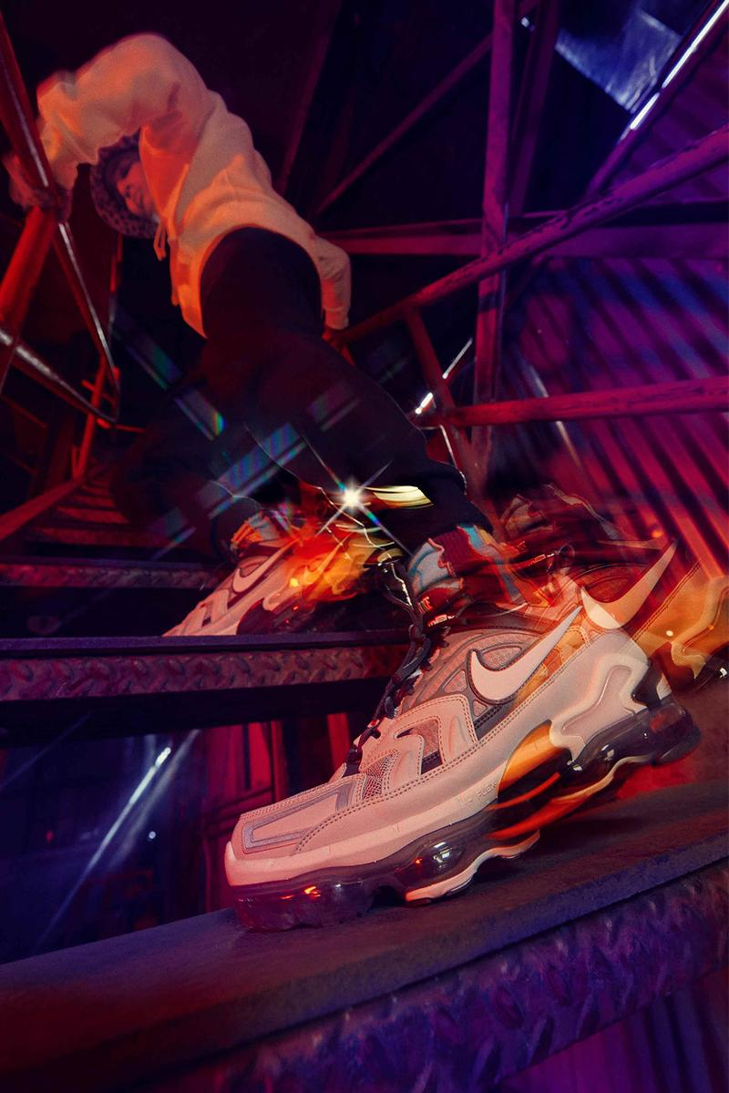 nike air max spring 2021 collection vapormax evo swoosh side stairs