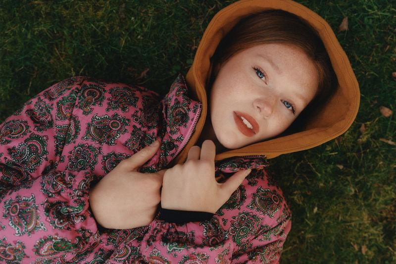 noah clothing ny spring summer 2021 collection campaign womenswear hoodie paisley