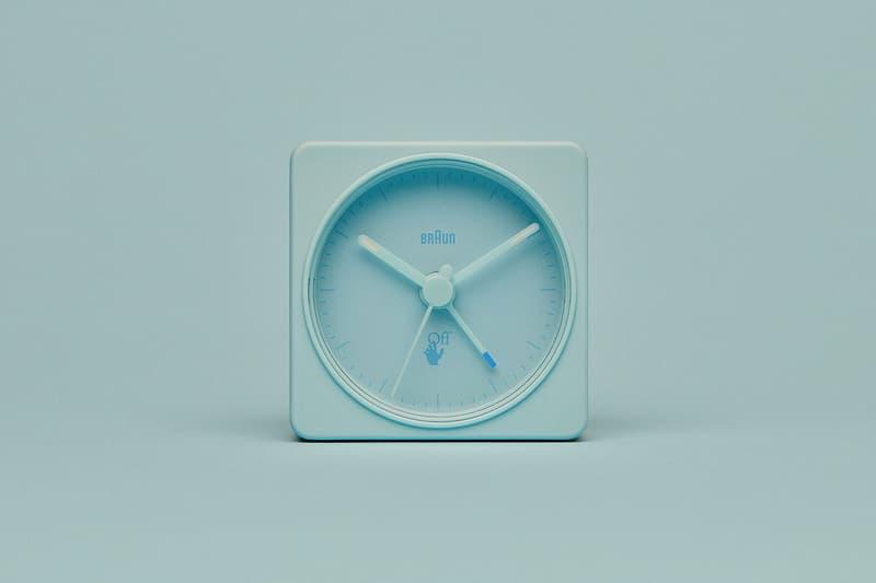 off-white braun alarm clocks collaboration home decor accessories blue front