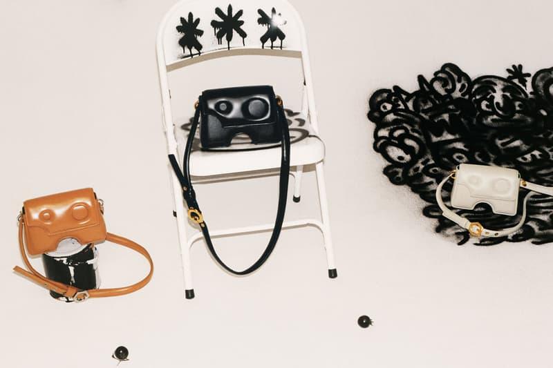 off-white burrow shoulder handbag purse virgil abloh spring summer 2021 ss21 black tan brown white cream