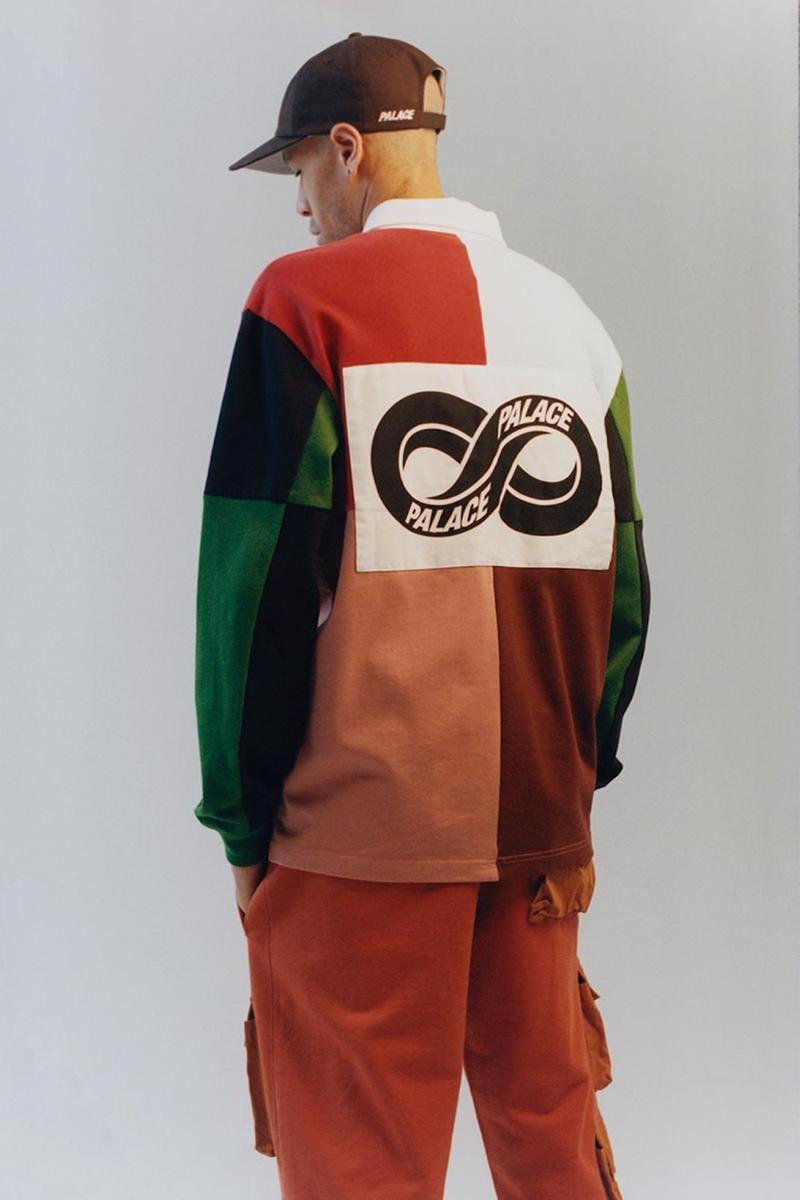palace skateboards spring summer collection lookbook jacket outerwear pants hat cap