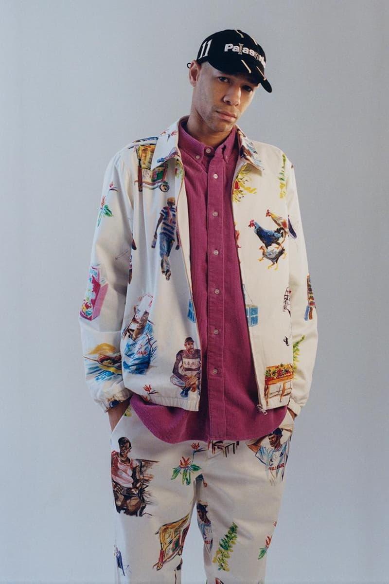 palace skateboards spring summer collection lookbook cap hat jacket pants shirt