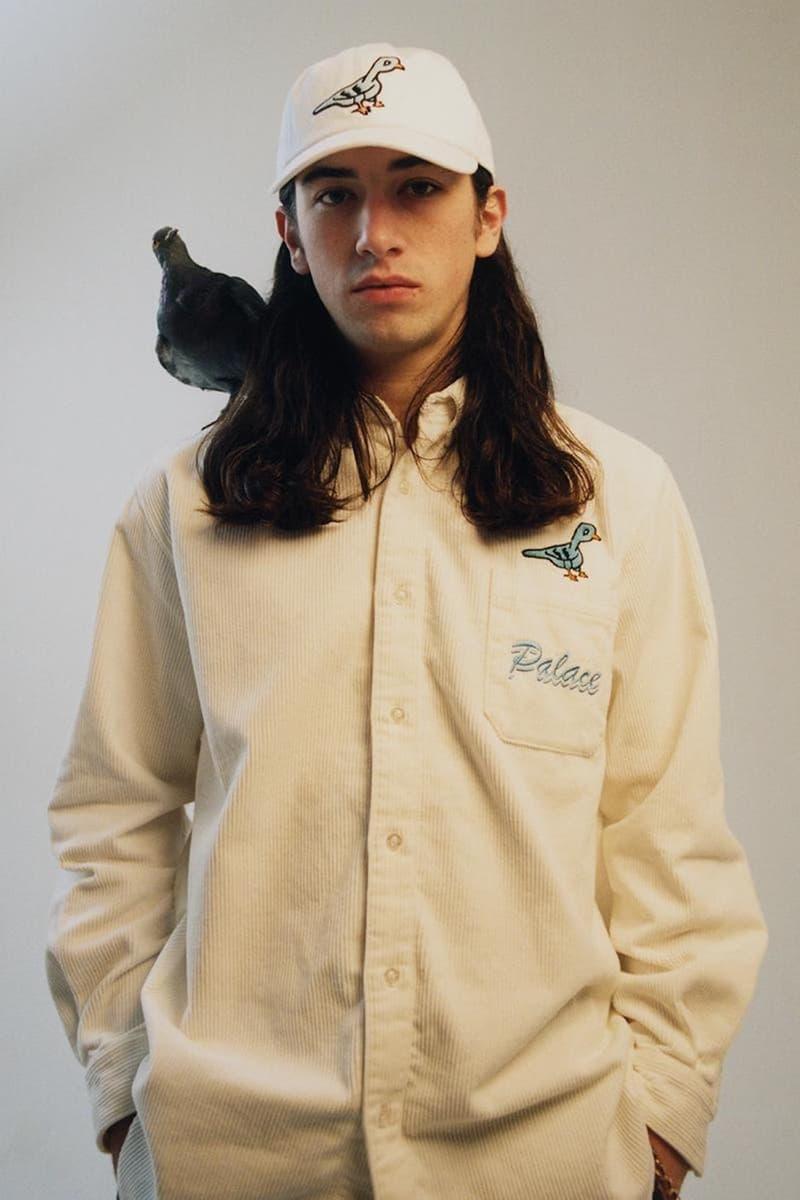 palace skateboards spring summer collection lookbook cap hat shirt bird