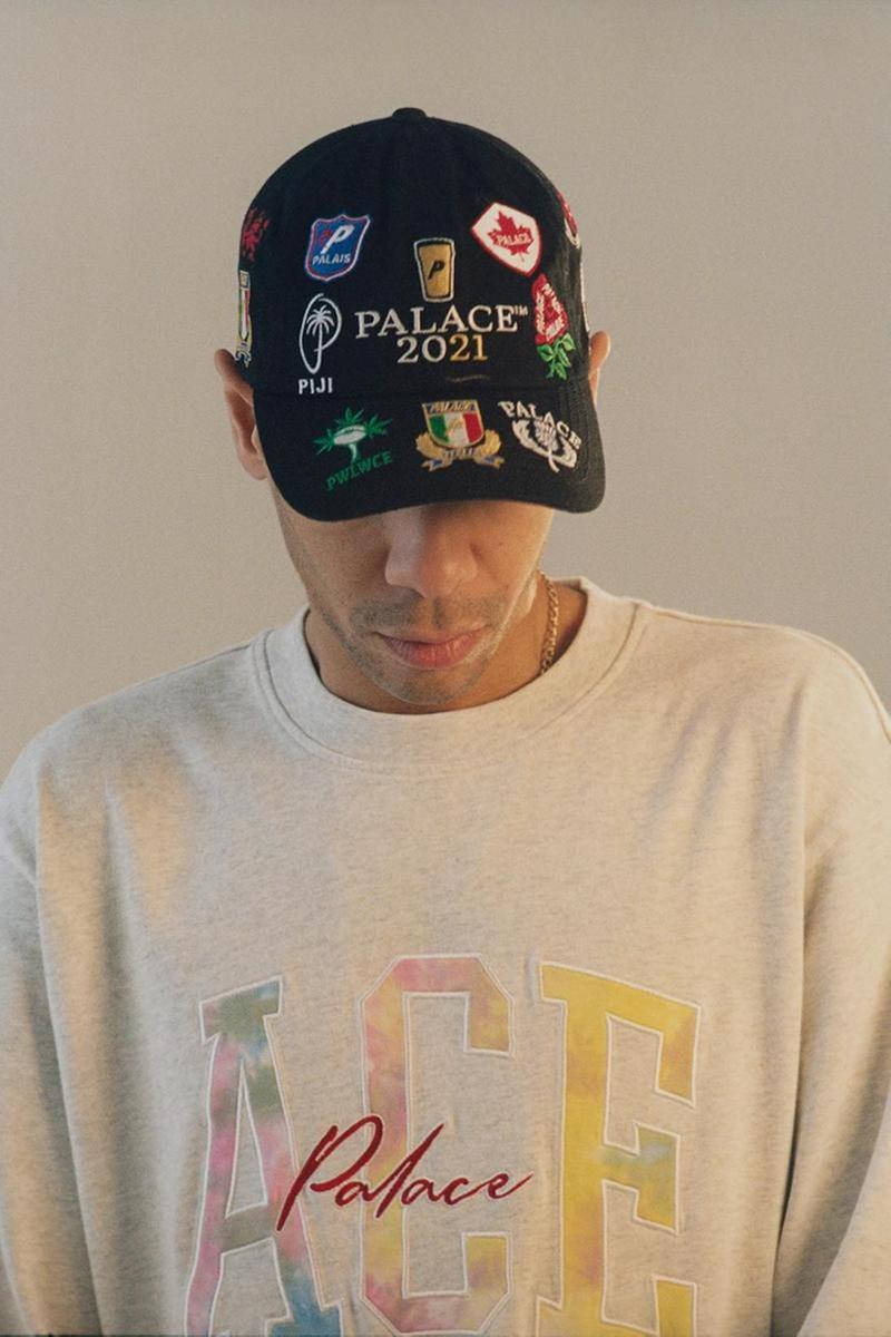 palace skateboards spring summer collection lookbook hat cap sweater